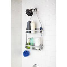 Plaats je shampoo en douchegel binnen handbereik in je douche met dit wandrek van Umbra.