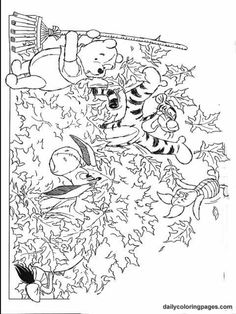 thanksgiving teddy bear coloring pages | 1000+ images about Coloring Pages {Winnie The Pooh} on ...