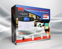 Multi Kon Trade M2B GSM SET-4 Alarmanlagenset