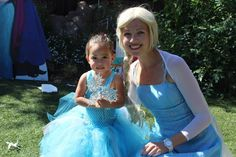 Forever Enchanted Parties - Mountain View, CA, United States. The bday girl and elsa!