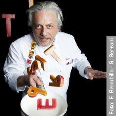 chef del Combal.zero di Rivoli (Torino), due stelle Michelin. Dal 2014 segue anche la linea di