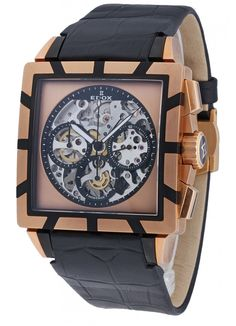 Edox Classe Royale Chronograph 95001 357RN NIR Limited Edition Watches, Chronograph, Accessories, Clock