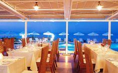 AEGEAN MELATHRON  Chalkidiki hotel Greece, Table Decorations, Furniture, Home Decor, Greece Country, Decoration Home, Room Decor, Home Furnishings, Home Interior Design