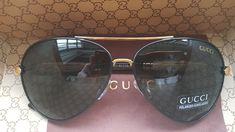 5c3f5e935 NEW AuthenticGucci Men's Black lens Sunglasses 8751 #fashion #clothing  #shoes #accessories #