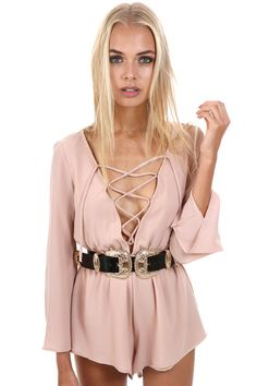 RIVERS ROMPER - Verge Girl