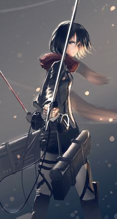 Attack on Titan Mikasa Ackermann ❤️❤️❤️