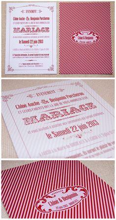 Trendy Wedding, blog idées et inspirations mariage ♥ French Wedding Blog: Des faire part Haut de forme !