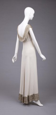 1930s Dress by Valentina, via The Goldstein Museum of Design.