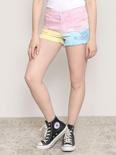 For The Dreamers Tie Dye Shorts - Gypsy Warrior
