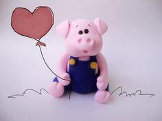 Um dos três porquinhos... | Atelie Daniela Macedo | Flickr