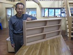 2009年5月19日 みんなの作品【本棚・棚】 大阪の木工教室arbre(アルブル)