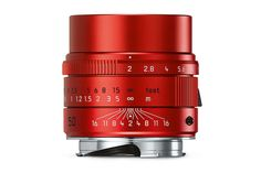 Summicron-M 50mm f/2 ASPH RED Limited Edition   Leica