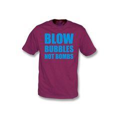 Blow Bubbles Not Bombs (West Ham United)