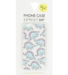 SKINNY DIP - Stegosaurus print iPhone 6 case | Selfridges.com