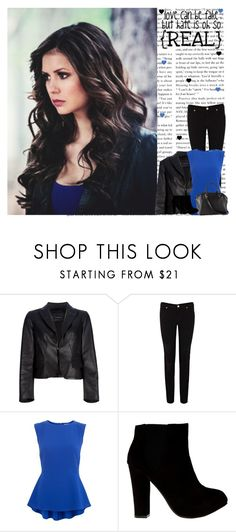 """Katherine ♥"" by irish-eyes-were-smiling ❤ liked on Polyvore featuring Dsquared2, Warehouse and H&M"