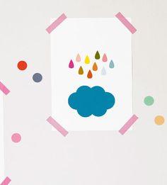 Cloud Poster - Affiche Nuage et Pluie