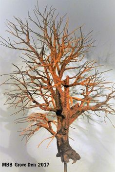 Model Tree, Bonsai, Miniature Trees, Winter Trees, Classic Toys, Model Trains, Diorama, Projects To Try, Scenery