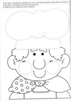 Chomikuj.pl - wysyłanie obrazka na telefon Activities For 6 Year Olds, Book Activities, Teaching Patterns, Community Helpers Preschool, Cooking Classes For Kids, Kids Education, Pre School, Preschool Activities, Embroidery Patterns
