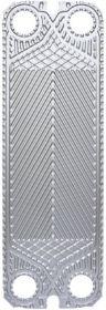 Пластины теплообменника Alfa Laval T8-BFG       Пластины теплообменника Alfa Laval T8-BFG – это важный элемент пластинчатых теплообменных устройств. Между гофрированных пластин происходит теплообмен от одной рабочей среды к другой.       Пакет пластин разделен опорной и прижимной плитой, закреплен болтами. На каждую пластину закрепляются или приклеиваются уплотнения, которые препятствуют смешению теплоносителей и направляют поток по каналам.       Подбор осуществляется в зависимости от…