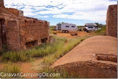 Old Onslow Ruins, Western Australia | CaravanCampingOz.com Western Australia, Perth, Travel Around, Mount Rushmore, Nursing, Westerns, Travelling, Adventure, Mountains