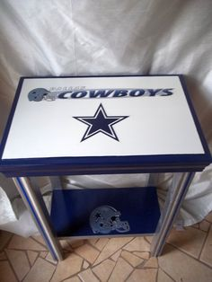 Dallas Cowboys Inspired Sports Table NFL Football by drSportsCaves