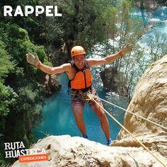 Aventúrate a la #HuastecaPotosina y desciende 50 metros a un costado de la Cascada de Minas Viejas.   #WeLoveAdventure  www.rutahuasteca.com  +52 481 381 7358 WhatsApp: 481.116.5900 email: info@rutahuasteca.com #RutaHuasteca #SLP #Ecoturismo #TurismoDeNaturaleza #VisitMexico #Tours #TodoIncluido