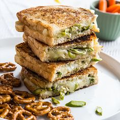 Asparagus & Swiss Grilled Cheese
