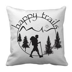 Happy Trails - Pillow Cases