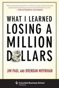 #Investing #Book: What I Learned Losing A Million Dollars https://www.amazon.com/Learned-Million-Columbia-Business-Publishing/dp/0231164688%3FSubscriptionId%3DAKIAI72JTXNWG65ZO7SQ%26tag%3Dfnnc-20%26linkCode%3Dxm2%26camp%3D2025%26creative%3D165953%26creativeASIN%3D0231164688
