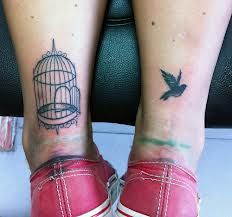 I really like achilles tattoos and I really want an open birdcage. This is perfect and gorgeous. It would just hurt ridiculously bad.