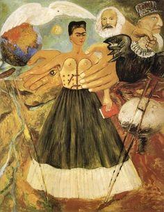 Frieda Kahlo 1954