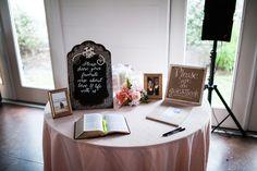 #bible #welcomebook #guestbook James and Amanda's #memphis wedding. Photo // Evan David Photography