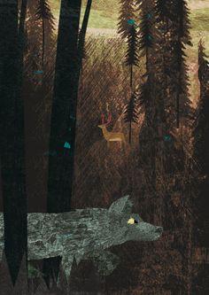 wolf - britta teckentrup