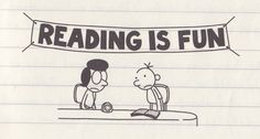 diary of a wimpy kid - jeff kinney Reading Quotes, Book Quotes, Wimpy Kid Series, Wimpy Kid Books, Kids Fans, Author Studies, Kid Memes, Kids Reading, Reading Room
