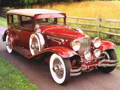 1930 Cord L 29 Formal Sedan - (Auburn Automobile Company, Connersville, Indiana 1929-1937)