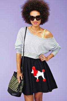 poodle skirt!!!!!!!!