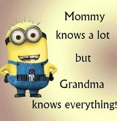 Rest in piece Grandma! Love you mom! Funny Texts, Funny Jokes, Hilarious, Sign Quotes, Cute Quotes, My Minion, Minion Humor, Funny Minion, Funny Images