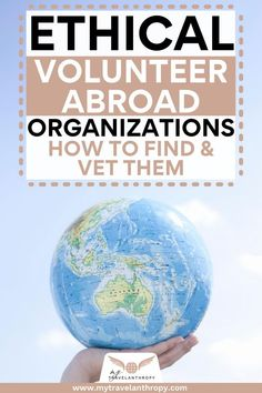 Get tips on how to find volunteer programs and how to make sure they are ethical volunteer programs. Not all volunteer abroad programs have the county's best interest at heart, so make sure you are choosing wisely with these tips. #volunteer #voluntourism #volunteerabroad #mytravelanthropy #travelanthropy | volunteer abroad programs | volunteer overseas | volunteer aboard | voluntourism travel | voluntourism projects | volunteer abroad tips | volunteer tips | how to volunteer abroad Volunteer Overseas, Volunteer Abroad Programs, Ways To Travel, Travel Tips, Teaching Skills, Responsible Travel, Volunteers, Budget Travel, Travel Inspiration