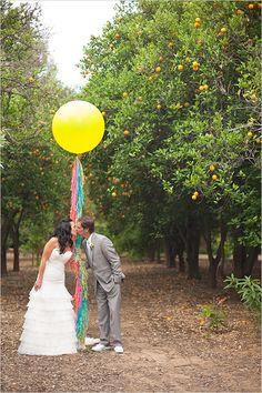 giant wedding balloon
