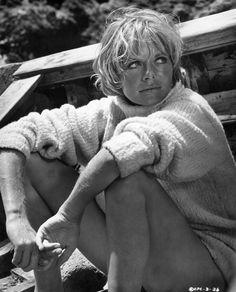 Women and sweaters British Actresses, British Actors, Cannes Awards, Susannah York, John Huston, Dramatic Arts, Bleach Blonde, Iconic Women