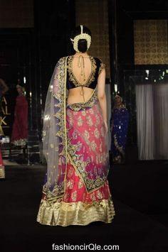 LOVED THE PINK  Vikram Phadnis show at India Bridal Week 2011   part 3 Vikram Phadnis Amby Valley India Bridal week 2011
