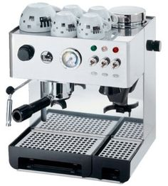 Domus Bar (DMB) espresso machine compactly built with stainless steel body. Built in grinder with seven adjustable position. Domus Bar: the semi professional choice for an espresso and cappuccin Cappuccino Maker, Cappuccino Coffee, Coffee Maker, Barista, Water Pressure Gauge, Nespresso Machine, Coffee Carts, Creative Coffee, Coffee Blog