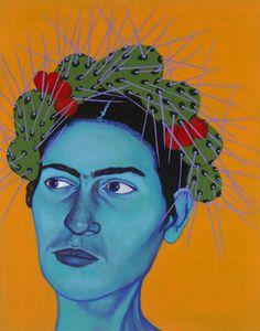 Jennifer Mondfrans Bio Born in Salem, Oregon as Jennifer Wilkinson in Mondfrans. Frida Kahlo Artwork, Diego Rivera, Mexican Folk Art, Figure Painting, Pop Art, Digital Prints, Original Paintings, Portrait, Illustration