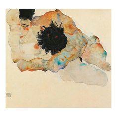 Follow @kw3hmd on Instagram: From: @avant.arte -  Embrace by Egon Schiele #egonschiele #Regrann