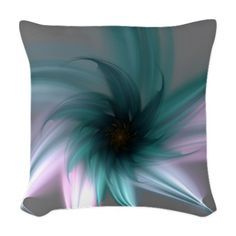 Serenity Woven Throw Pillow