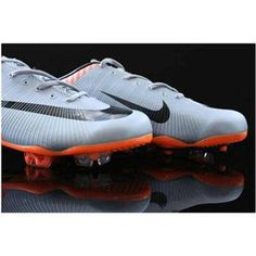 http://www.asneakers4u.com Sale Nike Mercurial Vapor VI Superfly II FG Soccer Shoes Silver Orange Black