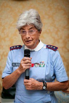 Tavola rotonda sul volontariato. Anna Tos Ricci, responsabile regionale primo soccorso, racconta le attività della CRI in tema di educazione sanitaria