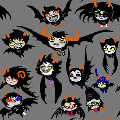 A Homestuck Halloween // I DONT KNOW WHICH ONE I LIKE MORE!