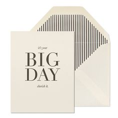 Big Day Card | The T