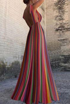 Oscar Fashion 2019 Tuxedo Dress my Summer Maxi Dresses Online Canada for Fashion Dress Up Games Mafa to Nz Women& Fashion Designers - Backless Maxi Dresses, Striped Maxi Dresses, Sexy Dresses, Sexy Maxi Dress, Flare Dress, Fashion Dress Up Games, Fashion Dresses, Short Beach Dresses, Summer Dresses